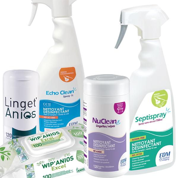 Sprays et lingettes