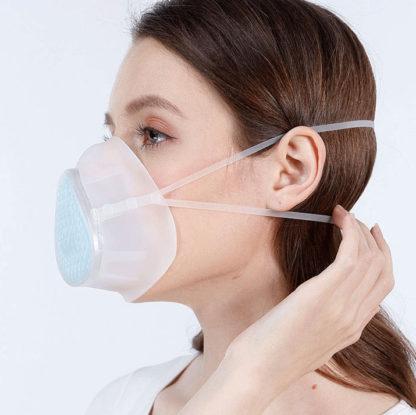 Masque en sillicone réutilisable et stérilisable
