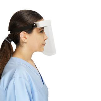 Masque visiiere praticien usage unique