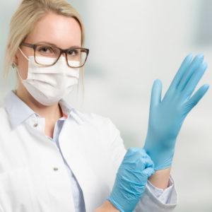 protection du praticien Gant Masques Visières