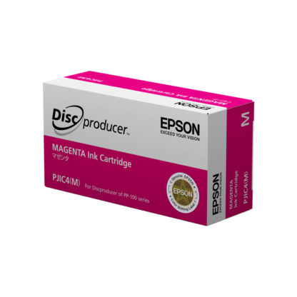 Cartouche EPSON PJIC4 Magenta pour discproducer PP100